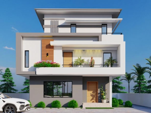 The Ambience - 4 Bedroom Duplex with penthouse